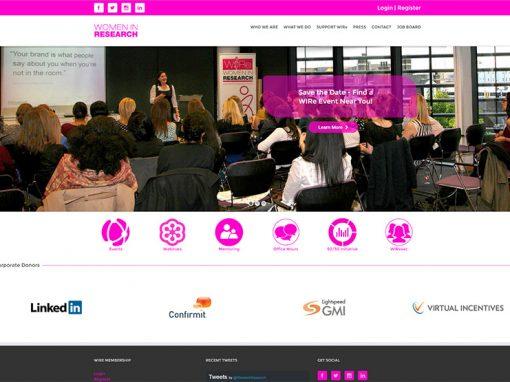 Women In Research (WIRe)